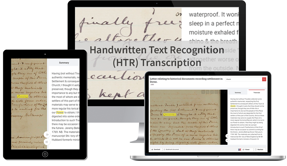 Upcoming webinar: Unlock your manuscript collections with HTR Transcription
